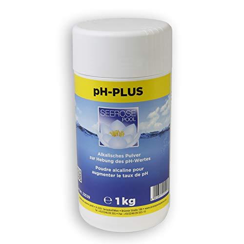 Seerose pH-Plus 1 kg Granulat pH-Wert Heber Pool Schwimmbecken