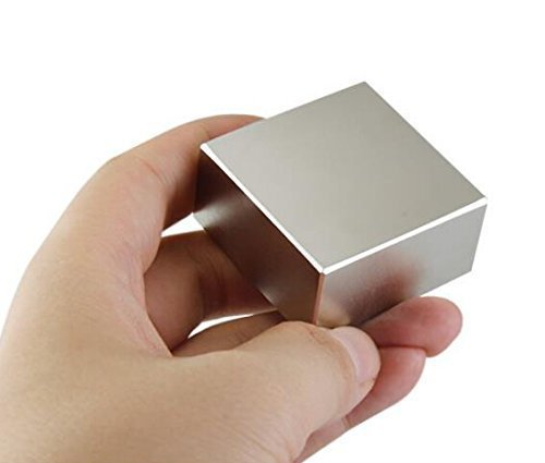 AOMAG® Bloque Fuerte imanes de neodimio N52 40 x 40 x 20 mm
