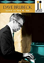 DVD-Cover von Dave Brubeck - Live in '64&'66