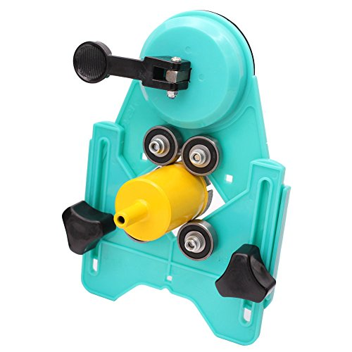 GORCHEN Drill Bit Hole Saw Guide Jig Fixture Adjustable Diamond Hole Cutter Centering Locator Holder with Vacuum Suction Base