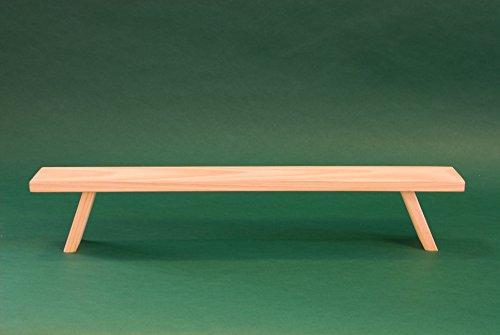 Unterstellbank Fuß Erhöhung Bank Fensterbank für Schwibbogen Lichterbogen Breite 80 cm
