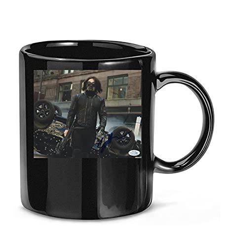 NICOLESXUKA #Sebastian Stan The #Martian Signature Coffee Mug for Women and Men Tea Cups