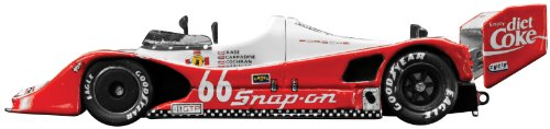 Dickie-Schuco 413311003 - True Scale - Porsche 966 #66 -1993- 1:43 Snap-on / Diet Coke, Sebring 12HR, Resin, rot-weiß