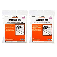 Use U-Haul's standard queen mattress bags to protect your mattress or box spring from dirt, debris, moisture, bugs, and other damage while moving, during a renovation, or while in storage For standard mattresses and box springs up to 10 inches in dep...