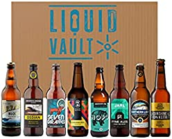 Scottish Real Ale Discovery Beer Box, A Mixed Case of 8 Real Ales From Scottish Breweries Including Fyne, Broughton,...