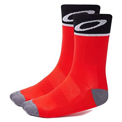 Oakley Bike-Socken Rot Gr. M