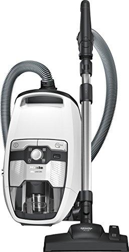Miele Blizzard CX1 Excellence EcoLine Bodenstaubsauger (ohne Beutel,  2,5 Liter Staubbeutelvolumen, 550 Watt, 11 m Aktionsradius, inkl. HEPA-Filter für Allergiker) weiß