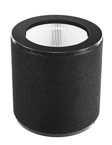 Air Purifier Replacement Filter for Taotronics AP008, 3-in-1 True HEPA Filter, Removes up to 99.97% of Pet Hair, Pollen, Pet Dander, Odors, Smokes and Dust