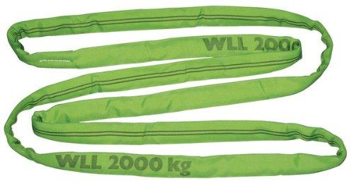Kerbl 37744 Rundschlinge, Tragkraft 4t / 8t Umfang 4 m, doppelt ummantelt