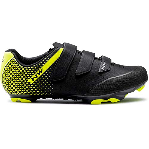 Northwave Zapatillas MTB Origin 2 Blackkyellow Fluo Amarillo Size: 45 EU