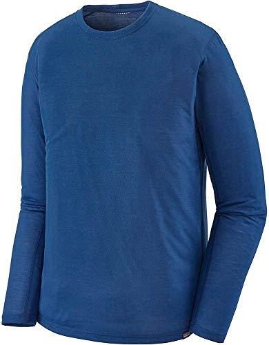 Patagonia M's L/S Cap Cool Trail Shirt Manches Longues Homme, Bleu (Superior Blue), L
