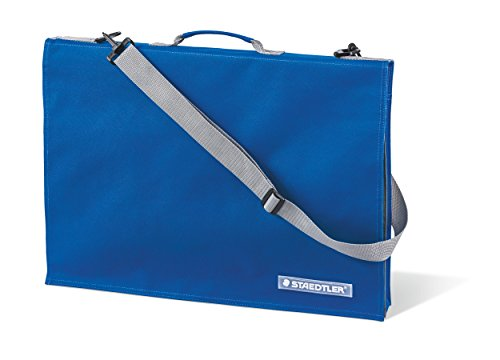 Staedtler LR 661 13 Zeichenplattentasche (mit Griff, DIN A3, wasserabweisend, strapazierfähiges Nylon, verstellbarer Schultergurt, integrierte Handytasche)