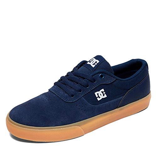 DC Shoes Switch, Scarpe da Skateboard Uomo, Blu (Navy/Gum NGM), 44.5 EU