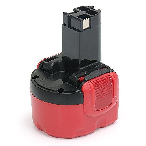 POWERGIANT 9.6V 3,0Ah NIMH Ersatzakku für Bosch Akku PSR 960 BAT048 GSR9.6 2607335272 2607335461 2607335260 BAT100 BAT119 BH984 BPT1041 23609 32609