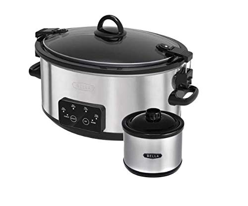 Great Price! 6 quart Programmable Slow Cooker with BONUS Mini Dipper