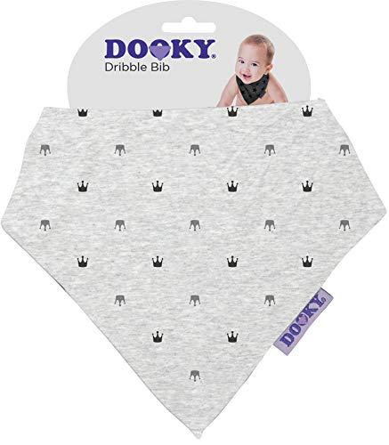 The Original Dooky Bavoir Bandana en coton, absorbant et réglable Rosa con Stelle - Pink Stars