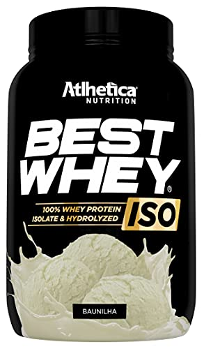 Best Whey Iso, Baunilha, Athletica Nutrition, 900 G