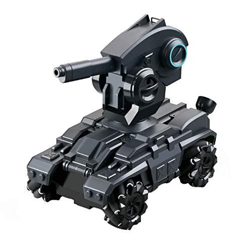Interesante El tanque de control remoto de la bomba de agua de gran tamaño puede lanzar un vehículo de asalto blindado, Mech y Cannon, un juguete de bala de cristal recargable (sin batería) Interacció