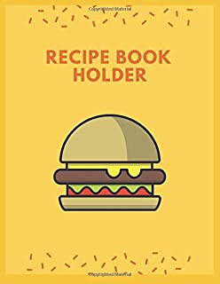 recipe book holder: This book is for Record information Food transaction For ease of recording Store recipes such as  cute...
