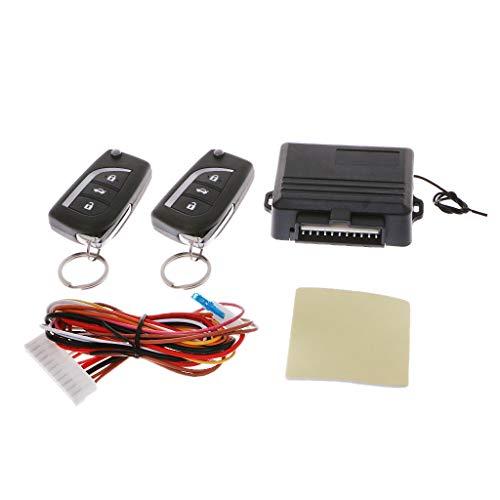 COLUDOR Universal Auto Zentralverriegelung Keyless Entry System Remote Zentralverriegelung Kits