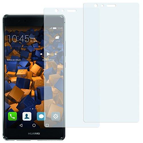mumbi Schutzfolie kompatibel mit Huawei P9 Folie klar, Bildschirmschutzfolie (2X)