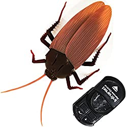 Scary remote control cockroach toy