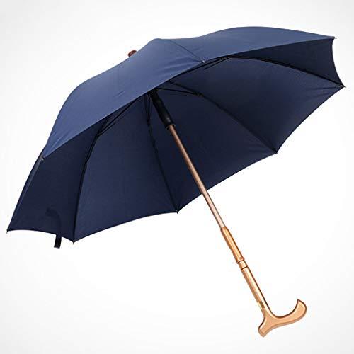paraplu multifunctionele krukken paraplu outdoor toegewijde parasol versterken antislip wandelstok ouderling veiligheid krukken paraplu winddicht antislip riet paraplu