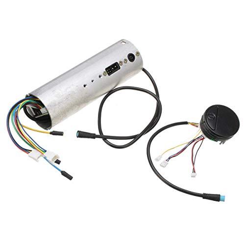 Facibom Tablero de Instrumentos Eléctrico de la Vespa Controlador de la Placa Base Tablero para Ninebot Es1 Es2 Es3 Es4 Eléctrica Accesorios del Scooter