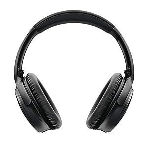 Bose QuietComfort 35 (Series II) Wireless Headphones, Noise Cancelling, Alexa voice control - Black