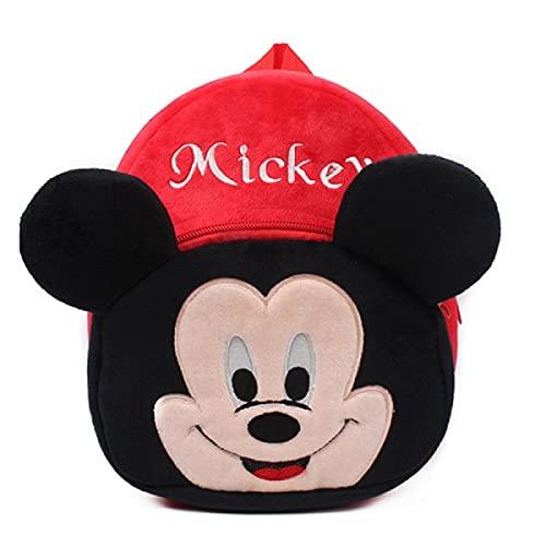 ZWRY Mochila infantil juguetes de peluche The Figures Children's Kindergarten School Bag Mickey