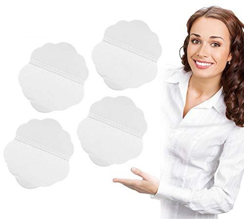Bloc de sueur, protège-aisselles pour femmes et hommes, protège-vêtement en forme de Quincunx jetable sous les aisselles, absorbant la transpiration (60pcs)
