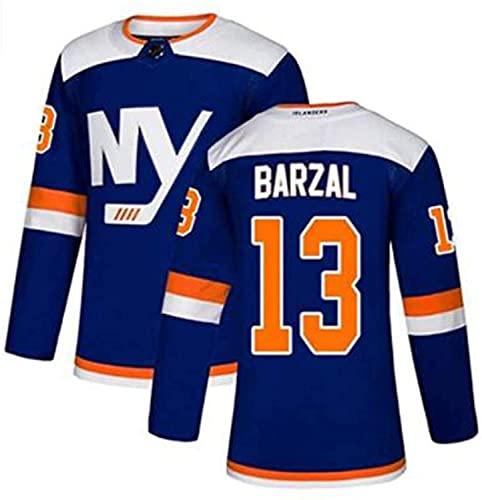 XIKADAN NHL Jersey New York Islanders 22# 91# Blau Herren Sweatshirts Atmungsaktives Langarm-T-Shirt Filmversion Eishockey-Trikot (S-XXXL),c,M