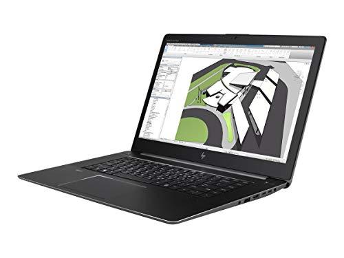 Hewlett Packard 1HQ52AW#ABD Laptop (Intel Core i7-7820HQ, 8GB RAM, NVIDIA Quadro M1200, Win 10 Pro) Space Silber