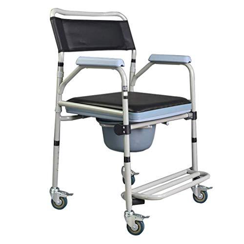 BJYG Rollstuhltoilette Stuhl Patiententoilette für schwangere Multifunktionsfrau