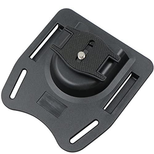 Cámara Cinturón Hebilla de Cintura para Cámara Cinturón de Botón de Camara Soporte de La Cintura de Cámara de Boton Plástico Duro Correa de Cinturón Presilla Hebilla para Cámara