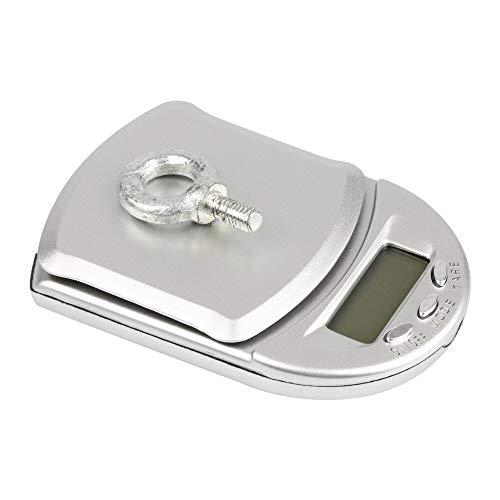 Báscula de cocina de 500 g x 0,1 g Mini LCD Digital Pocket Jewelry Diamond Portable Gram Weight Scale