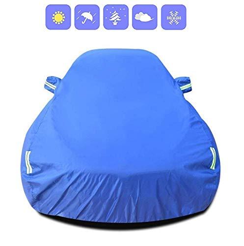 Car Cover Compatibel met Nissan X-TRAIL Volledig waterdicht Oxford Doek Outdoor Sedan windscherm Dust Cover Sunscreen Krasbestendig UV, Blauw clmaths (Color : Blue, Size : -)