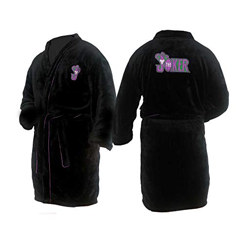 u-wear Mens Joker Bathrobe Bata de baño (Medium