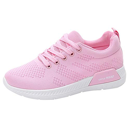 Damen Schuhe, Cramberdy Schuhe Damen Turnschuhe Damen Sneaker Schuhe Sommer Schuhe Damen Sportschuhe Freizeitschuhe Damenmode Atmungsaktives Mesh Laufsport Sneakers Reise Outdoor Zehenschuhe