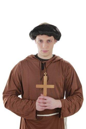 Foxxeo Heiliges Kreuz Kostüm Mönch Nonne Priester Karneval