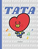 TATA: BT21 NOTEBOOK For School   120 Pages 8.5'' x 11'' Lined Journal   Perfect for BTS ARMY & KPOP FANS