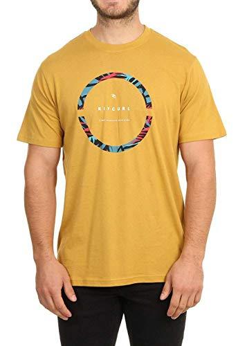 Rip Curl Camiseta de manga corta Saltwater Eco - amarillo - Small