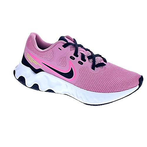 Nike Wmns Renew Ride 2, Zapatillas para Correr Mujer, Elemental Pink Black Sunset Pulse Cyber White, 38 EU