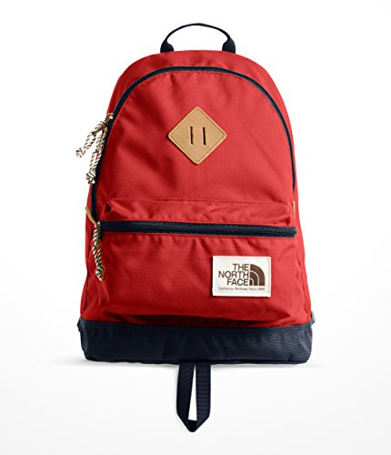 The North Face Mini Berkeley Backpack, Bossa Nova Red/Conquer Blue