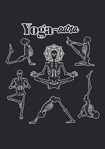 Notizbuch A5 liniert mit Softcover Design: Yoga Sutra Meditation und mehr: 120 linierte DIN A5 Seiten