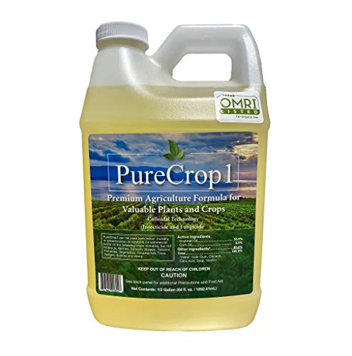 PureCrop1 Organic Agriculture Concentrate   Insecticide, Fungicide, Biostimulant, Surfactant  ...