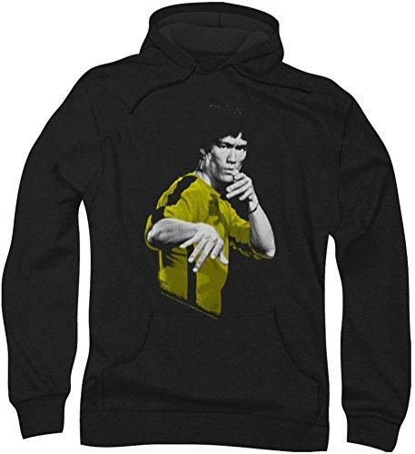 Bruce Lee - - Trajes para Caballero de la Muerte con capucha, XX-Large, Black