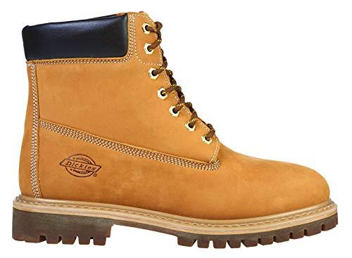 Dickies Bottes Hommes Bottes en Cuir Asheville Boot Honey-41