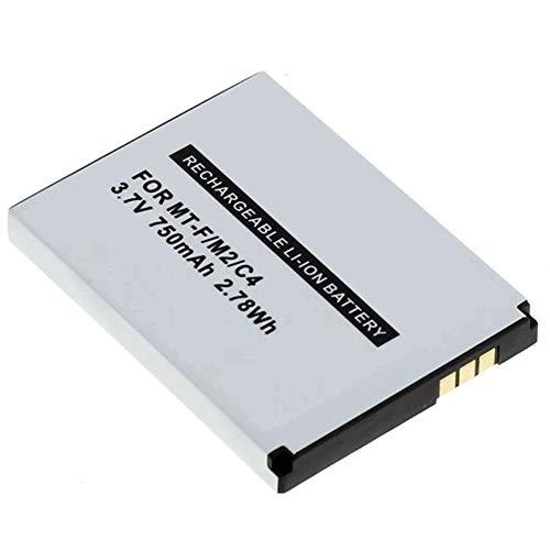MeXXstar Akku für AVM Fritz!Fon MT-F / M2 / C4 / C5 / 312BAT006 (Li-Ion - 750mAh/2,78Wh) (1x)