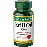 Nature's Bounty, Red Krill Oil, 500 mg, 30 Softgels